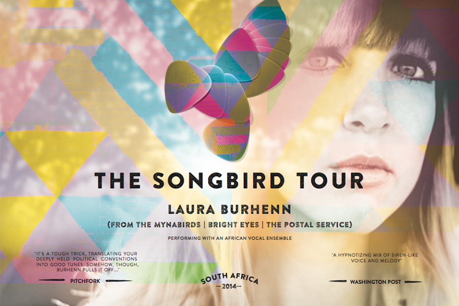 Proud sponsor of The Songbird Tour with Laura Burhenn